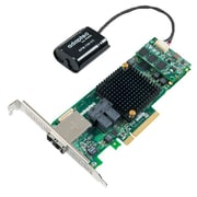 Adaptec® 8Q Series 1GB MD2 Low Profile PCI-Express 3.0 x8 SAS RAID Controller With MaxCache Plus