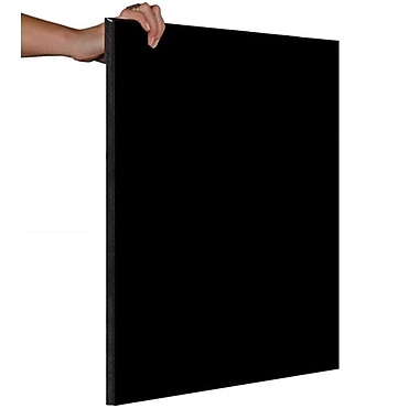 Plain Blank Chalkboards, Solid Black