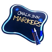 "Chalk Markers Classic Set, 7"" x 5"" x 1"", 8/Pack"