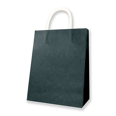 Medium Kraft Bag, Black, 12 Bags