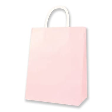 Medium Kraft Bag, Light Pink, 12 Bags