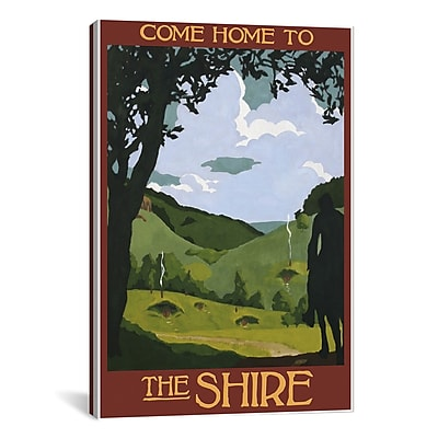 iCanvas Come Home to the Shire by Steve Thomas Painting Print on Wrapped Canvas