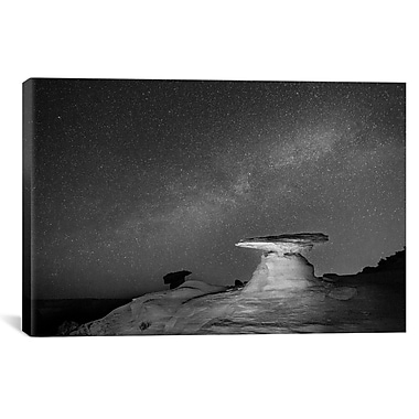 iCanvas 'Starry Night' by Moises Levy Photographic Print on Canvas; 26'' H x 40'' W x 0.75'' D