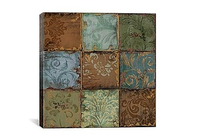 iCanvas Tapestry Tiles Canvas Print Wall Art; 27'' H x 27'' W x 1.5'' D