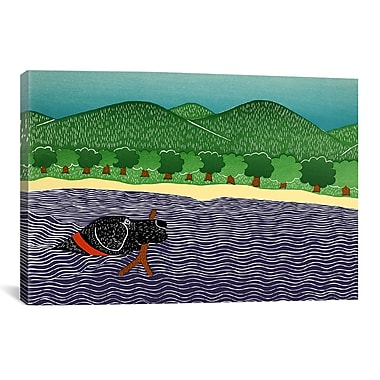 iCanvas I Like Sticks by Rock Demarco Painting Print on Wrapped Canvas; 18'' H x 26'' W x 0.75'' D