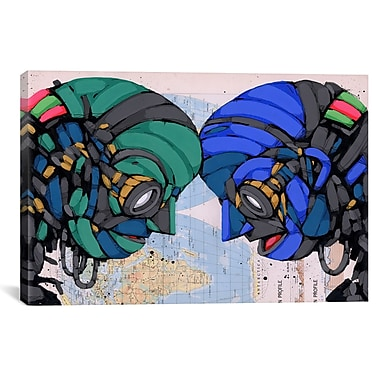 iCanvas Ric Stultz Putting Our Heads Together Canvas Print Wall Art; 41'' H x 61'' W x 1.5'' D