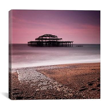 iCanvas Nina Papiorek Brighton Pier Photographic Print on Wrapped Canvas; 27'' H x 27'' W x 1.5'' D