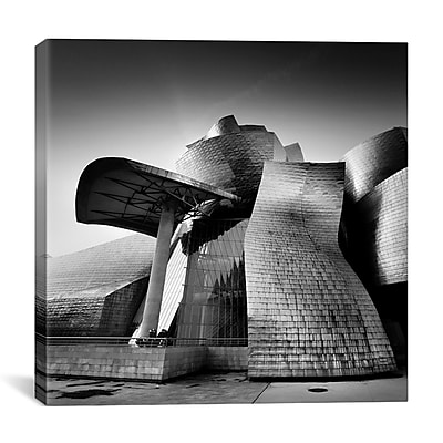 iCanvas Guggenheim Bilbao by Nina Papiorek Photographic Print on Wrapped Canvas