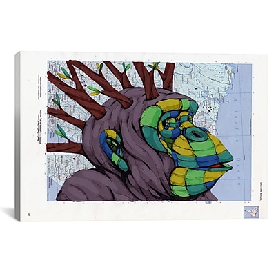 iCanvas New Thoughts Branching Out by Ric Stultz Graphic Art on Wrapped Canvas