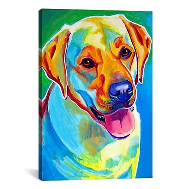 iCanvas ''May'' by DawgArt Painting Print on Wrapped Canvas; 18'' H x 12'' W x 0.75'' D