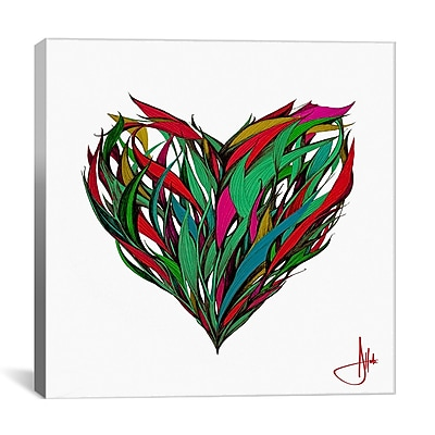 iCanvas 'Seasons' by Marc Allante Graphic Art on Wrapped Canvas; 27'' H x 27'' W x 1.5'' D