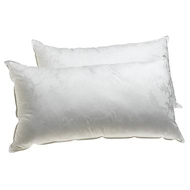 Deluxe Comfort Supreme Cloud Plus Gel Fiber Pillow; Queen