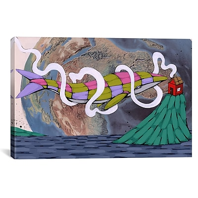 iCanvas My Home is the Sea by Ric Stultz Graphic Art on Wrapped Canvas; 18'' H x 26'' W x 0.75'' D