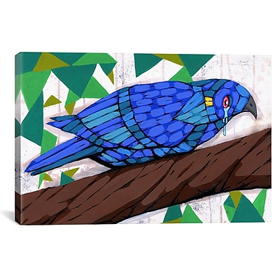 iCanvas Ric Stultz Bluest Bird Graphic Art on Wrapped Canvas; 26'' H x 40'' W x 0.75'' D
