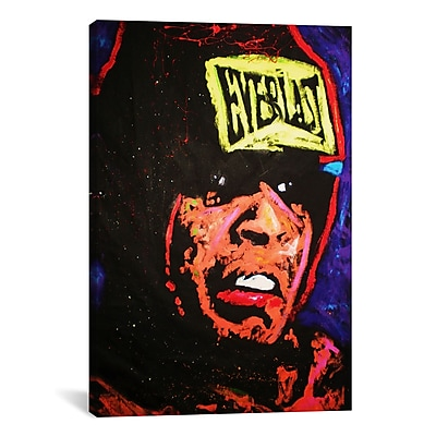 iCanvas Rock Demarco Ali 002 Painting Print on Wrapped Canvas; 40'' H x 26'' W x 0.75'' D