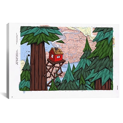 iCanvas Getting Away From It All by Ric Stultz Painting Print on Wrapped Canvas