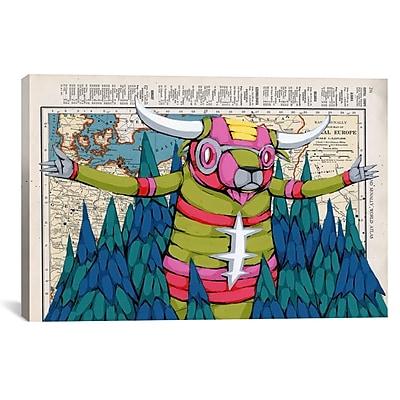 iCanvas Ric Stultz Bring It by Ric Stultz Graphic Art on Wrapped Canvas; 18'' H x 26'' W x 0.75'' D