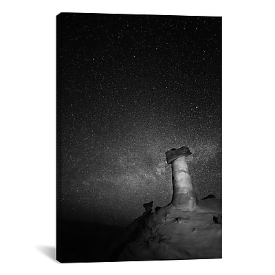 iCanvas 'Starry Night' by Moises Levy Photographic Print on Canvas; 40'' H x 26'' W x 0.75'' D