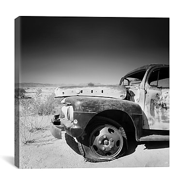iCanvas Namibia Rotten Car by Nina Papiorek Photographic Print on Wrapped Canvas