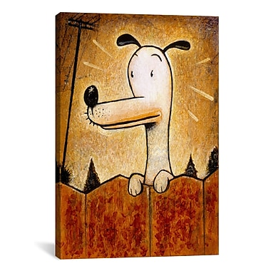 iCanvas 'Pup' by Daniel Peacock Painting Print on Wrapped Canvas; 61'' H x 41'' W x 1.5'' D