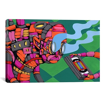 iCanvas Ric Stultz Seen Too Much Graphic Art on Wrapped Canvas; 18'' H x 26'' W x 0.75'' D