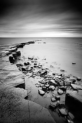 iCanvas Kimmeridge Bay by Nina Papiorek Photographic Print on Wrapped Canvas