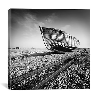 iCanvas Nina Papiorek Ship Wreck I Photographic Print on Wrapped Canvas; 27'' H x 27'' W x 1.5'' D