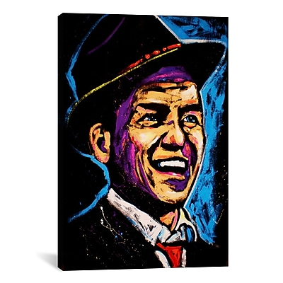iCanvas Rock Demarco Sinatra 001 Painting Print on Wrapped Canvas; 26'' H x 18'' W x 0.75'' D