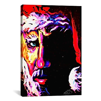 iCanvas Rock Demarco Santa 1 001 Signed Painting Print on Wrapped Canvas; 26'' H x 18'' W x 0.75'' D