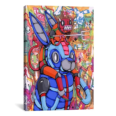 iCanvas Ric Stultz Always On My Back Graphic Art on Wrapped Canvas; 41'' H x 27'' W x 1.5'' D