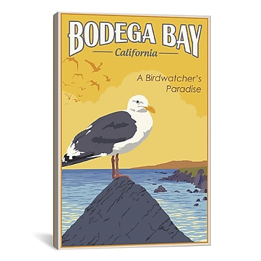 iCanvas Steve Thomas Bodega Bay by Steve Thomas Graphic Art on Wrapped Canvas