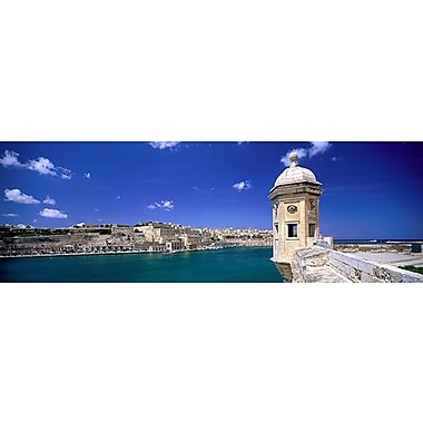 iCanvas Panoramic Valletta Malta Photographic Print on Wrapped Canvas; 12'' H x 36'' W x 0.75'' D