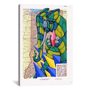 iCanvas Holding the Rarity by Ric Stultz Graphic Art on Wrapped Canvas; 40'' H x 26'' W x 0.75'' D