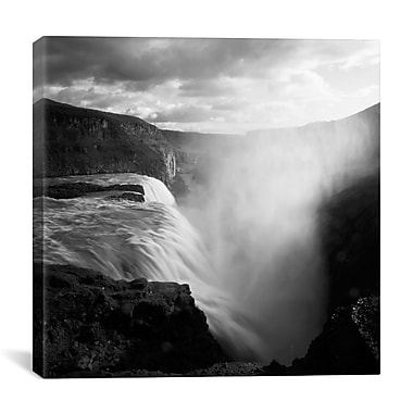 iCanvas Iceland Gullfoss by Nina Papiorek Photographic Print on Wrapped Canvas