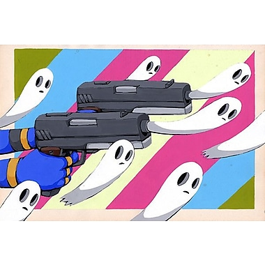 iCanvas Making New Ghosts by Ric Stultz Graphic Art on Wrapped Canvas; 18'' H x 26'' W x 0.75'' D