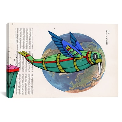 iCanvas Leap of Faith by Ric Stultz Graphic Art on Wrapped Canvas; 12'' H x 18'' W x 0.75'' D