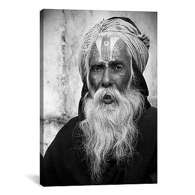 iCanvas Nepal Saddhu II by Nina Papiorek Photographic Print on Wrapped Canvas