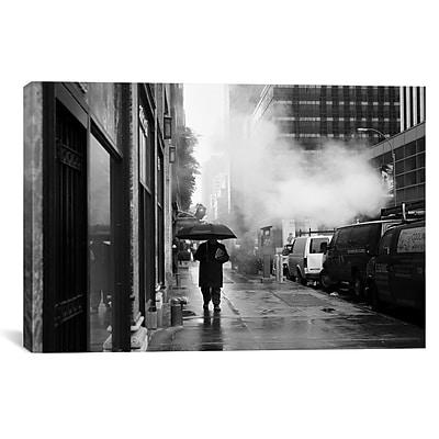 iCanvas New York City Rain by Nina Papiorek Photographic Print on Wrapped Canvas