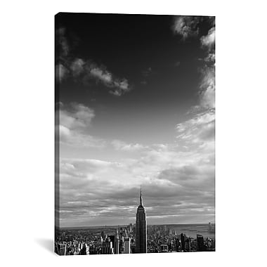 iCanvas New York City Manhattan Sky by Nina Papiorek Photographic Print on Wrapped Canvas