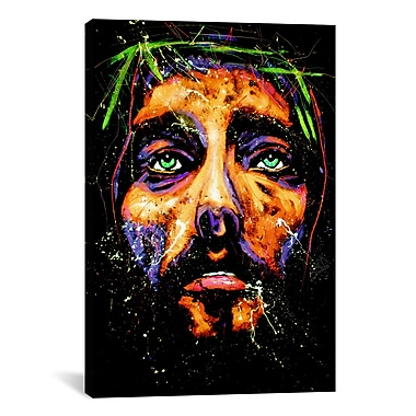 iCanvas Jesus 001 by Rock Demarco Painting Print on Wrapped Canvas; 41'' H x 27'' W x 1.5'' D