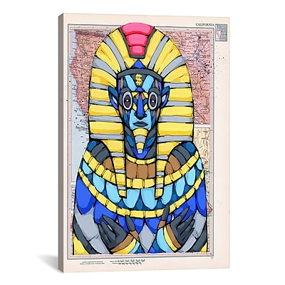 iCanvas Ric Stultz American Pharaoh Graphic Art on Wrapped Canvas; 41'' H x 27'' W x 1.5'' D