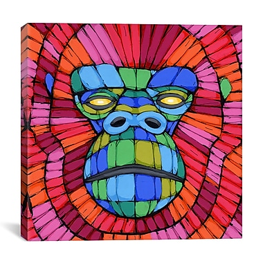 iCanvas Face First by Ric Stultz Graphic Art on Wrapped Canvas; 18'' H x 18'' W x 0.75'' D