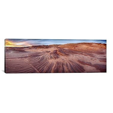 iCanvas 'The Great Wall' by Moises Levy Photographic Print on Canvas; 12'' H x 36'' W x 1.5'' D
