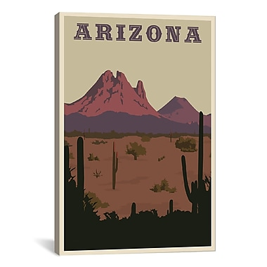 iCanvas Steve Thomas Arizona Graphic Art on Wrapped Canvas; 26'' H x 18'' W x 0.75'' D