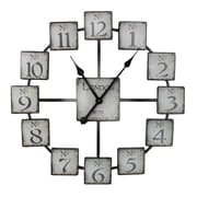 Entrada Oversized London 23.6'' Wall Clock