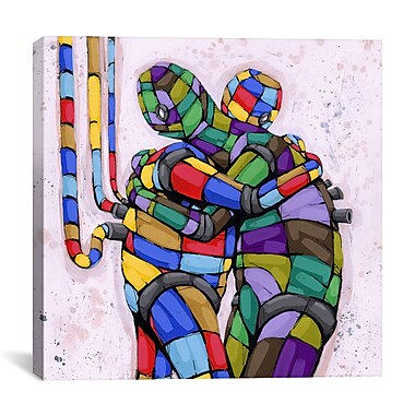 iCanvas Ric Stultz Already Miss You Graphic Art on Wrapped Canvas; 18'' H x 18'' W x 0.75'' D