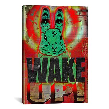 iCanvas Wake Up by Anthony Freda Painting Print on Wrapped Canvas; 26'' H x 18'' W x 0.75'' D