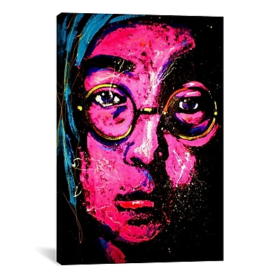 iCanvas Lenon 001 by Rock Demarco Painting Print on Wrapped Canvas; 60'' H x 40'' W x 1.5'' D