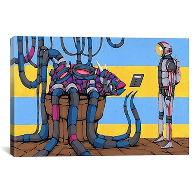 iCanvas Making Friends Final Frontier by Ric Stultz Graphic Art on Wrapped Canvas