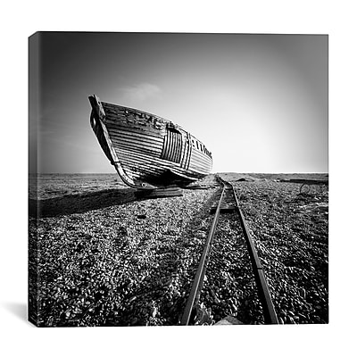 iCanvas Nina Papiorek Ship Wreck II Photographic Print on Wrapped Canvas; 26'' H x 26'' W x 0.75'' D